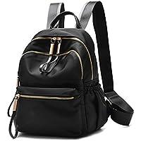 Wraifa Waterproof PU Leather Small Backpack Purse for Women School Bag for Girls