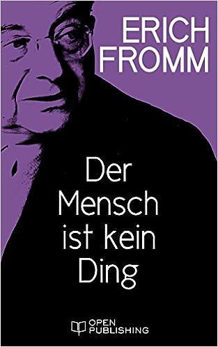 Open ebook download Der Mensch ist kein Ding: Man Is Not a Thing (German Edition) (Norsk litteratur) PDF