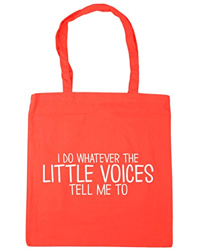 Coral Voices HippoWarehouse The To litres Tote 42cm x38cm Gym Do Little Bag 10 Shopping Beach I Tell Me Whatever W88FgUn