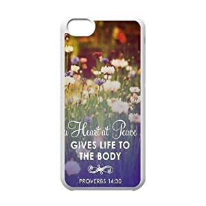 Diy iphone 5 5s case Custom Case for iPhone 5 5S with Personalized Design Bible Verses Christian Quotes