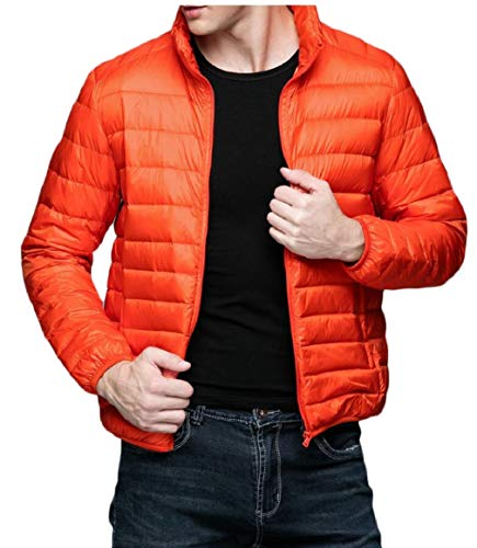 Outwear Down Collar Jacket Gocgt Stand Coat 3 Lightweight Packable Men's q5OCgS