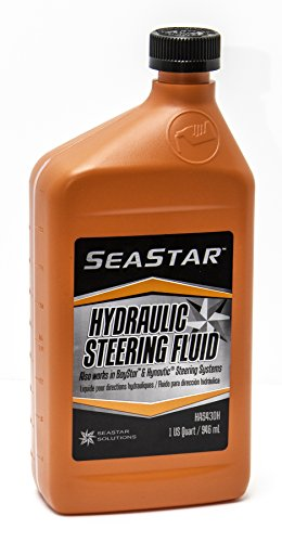 SeaStar Solutions HA5430H SeaStar / BayStar Hydraulic Steering Fluid, 1 Quart ()