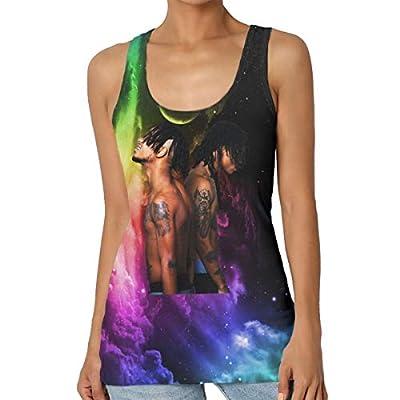 Womens Sleeveless T-Shirt Rae Sremmurd SremmLife Tank Tops Women Tee Shirt
