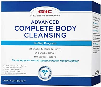 GNC Preventive Nutrition Advanced 14-Day Complete Body Cleansing