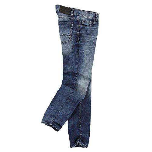 engbers Herren Jeans mit modischer Waschung, 23676, Blau
