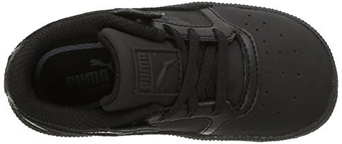 PUMA Kids Sky II Lo Color Blocked Sneaker, Black Black,7 M US Toddler