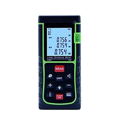 Home 131ft Laser Rangefinder 40m 50m 60m 70m 80m 100m 120m 150m Distance Meter Digital Laser Range Finder Tape Area-volume-Angle Tester Tools