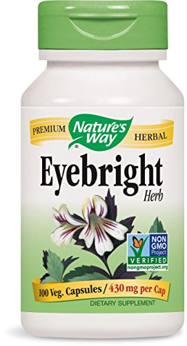 Cheap Nature's Way Eyebright Herb, 430mg, 100 Capsules (Pack of 2)