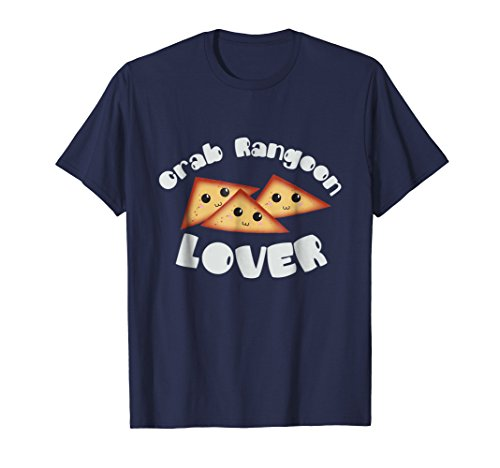 Crab Rangoon Lover Tee Shirt for Food Lovers (Crab Rangoon)