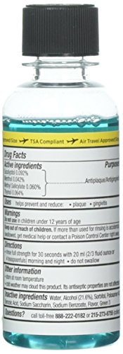 Listerine Antiseptic Mouthwash, Cool Mint 3.2 oz (Pack of 10) by Listerine (Image #1)
