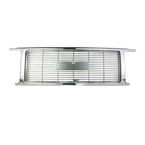 CarPartsDepot Grill Grille Front Chrome Gary Assembly Gm1200415 15667813