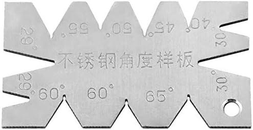 ZKS-KS ビット角度ゲージをドリル、3pcsのはゲージ角度測定ゲージDirll削りツールS / S角度ドリル 耐久性に優