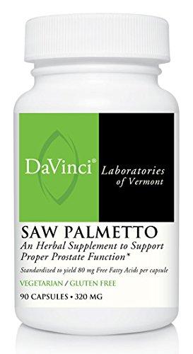 DaVinci Labs Saw Palmetto, 90 capsules