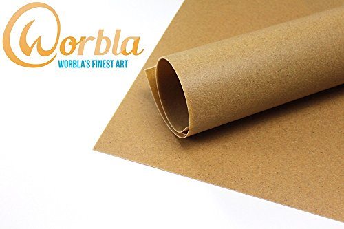 Worblas Finest Art Sheet Size M (29x19 Inch Sheet) Thermoplastic Material for Cosplay and (Worbla Costumes)