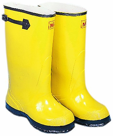 Mutual 14500 Extra Wide OverTheShoe Work Slush Boot 17quot Height Size 18 Yellow
