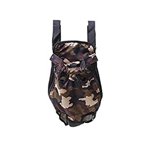 Electomania Fashion Pet Dog Doggy Sling Legs Out Design Outdoor Travel Durable Portable Front Chest Pack Carrier Backpack Shoulder Bag for Dogs Cats Puppy Carriers Pet Tote Bag Size XL