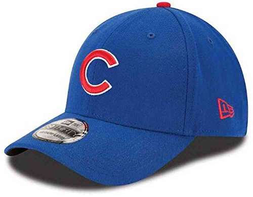 (MLB Chicago Cubs Team Classic Game 39Thirty Stretch Fit Cap, Blue, Large/X-Large)