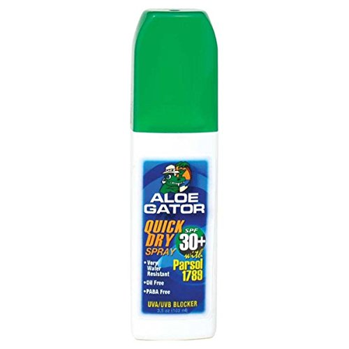 Aloe Gator SPF 30+ Quick Dry Pump Spray (3.5-Ounce)