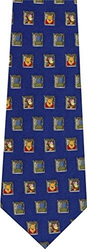 - Winnie the Pooh Squares Novelty Cartoon Necktie