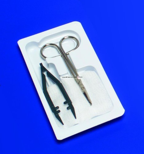Removal Suture Curity Kit (Special 1 Pack of 10 - CURITY Suture Removal Kit KND66100 KENDALL)