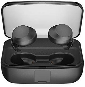 LLDKA Caso de Carga Auriculares, Bluetooth portátiles en el oído, Bluetooth 5.0 estéreo Mini Auricular, Deportes Auriculares inalámbricos