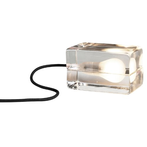 デザインハウスストックホルム ブロックランプ ブラック MoMA 照明 B00546L1I0