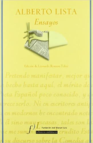 Descargar libros de texto en línea gratis Alberto lista - ensayos 8496824225 PDF