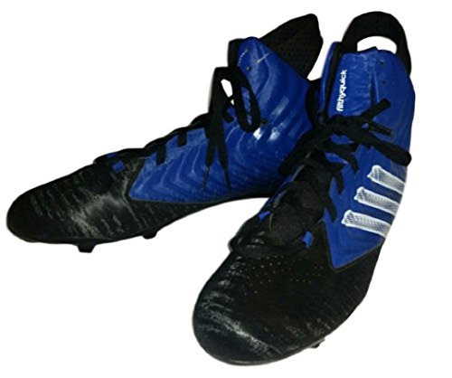 Adidas Filthy Quick Hi Mens Football Cleats Black/Blue G98729 Size: 16