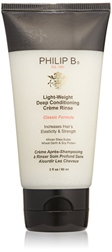 PHILIP B Light-Weight Deep Conditioning Cream Rinse Conditioner, Classic Formula, 2 fl. oz. Conditioning Creme Rinse