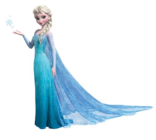 Frozen Elsa Peel And Stick Giant