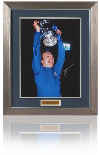 Chelsea 1970 Fa Cup - Ron Harris hand signed Chelsea 1970 FA Cup Final photograph (PP451)