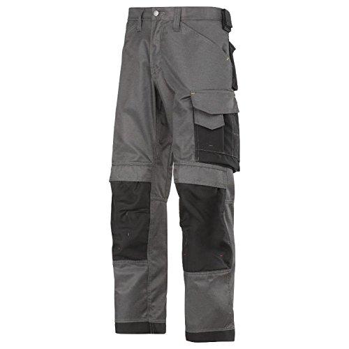 Snickers 3312 DuraTwill Twisted Leg - Pantalón de trabajo Negro
