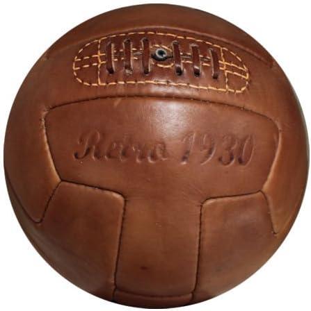 ballhandel - Fútbol Retro 1930 Pelota de Cuero Real de fútbol ...