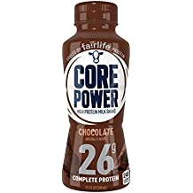 fairlife Core Power High Protein (26g) Milk Shake, Chocolate (Packaging May Vary), 11.5-ounce bottles, 12 Count