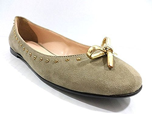 Set Gamuza WH910 Mujer Zapatos Beige 37 Bailarinas Twin FfwCq