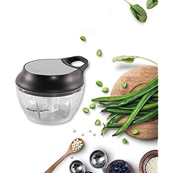Amazon.com: Cortador manual de alimentos, picador de mano ...
