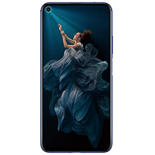 Honor 20 (Sapphire Blue, 6GB, 128GB Storage) – 48m AI Quad Rear Camera & Kirin 980 Processor.