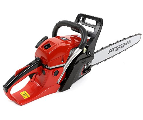Surpass 56.5cc Gas Chainsaw SPS205812CS 3.3HP 20' Bar Cutting Wood EPA