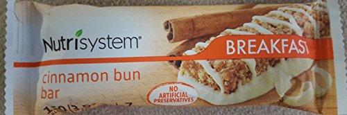 Nutrisystem BREAKFAST - CINNAMON BUN BAR (7 COUNT) by Nutrisystem
