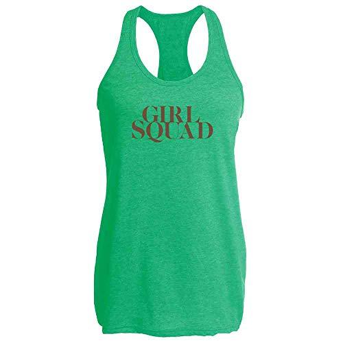 (Pop Threads Girl Squad Heather Kelly 2XL Womens Tank)