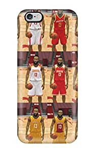 Beautifulcase Anti-scratch And Shatterproof Houston Rockets Basketball Nba cell phone case cover For Iphone p7BXpHHSajU 6 Plus/ High Quality Tpu case cover