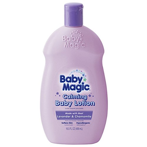 Baby Calming Milk (Baby Magic Calming Baby Lotion, Lavender and Chamomile, 16.5 Ounces (Pack of 6))