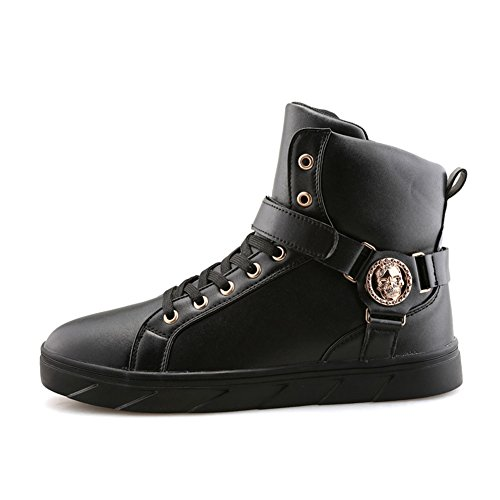 FASHION PP Leather Basketball PU Shoes Fashion Mens Gym Top Sneakers Boots Black Style Stylish Training Korean High Casual Running Hdpqw8dfr
