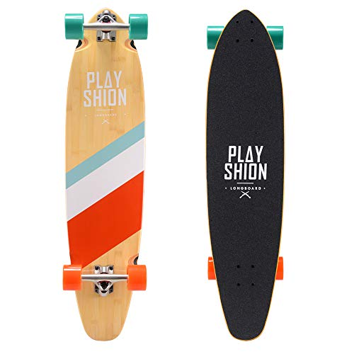 Playshion 31″x8″ Complete Skateboard for Kids Adults Beginners