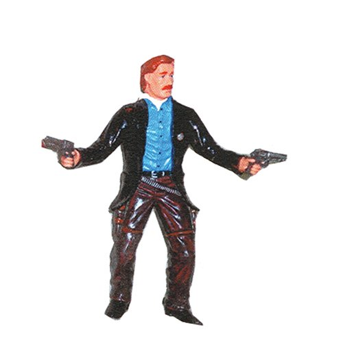AAA 50005 Cowboy Sheriff with Pistols and Ammunition Belt - Realistic Toy Western Sheriff Figurine ()
