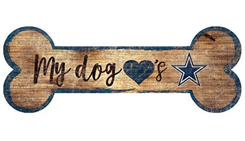 Pittsburgh Steelers 12 x 4.25 Dog Bone Wooden Sign