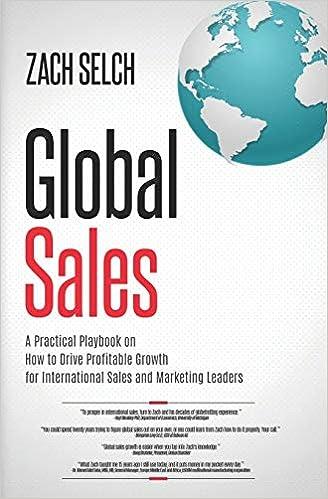 Global Sales:: A Practical Playbook