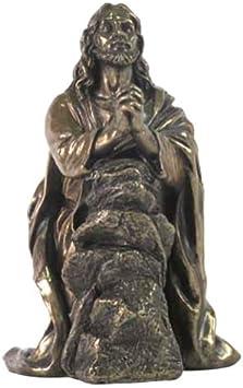 Jesús rezando en el jardín de getsemaní Estatua Escultura Figura decorativa: Amazon.es: Hogar