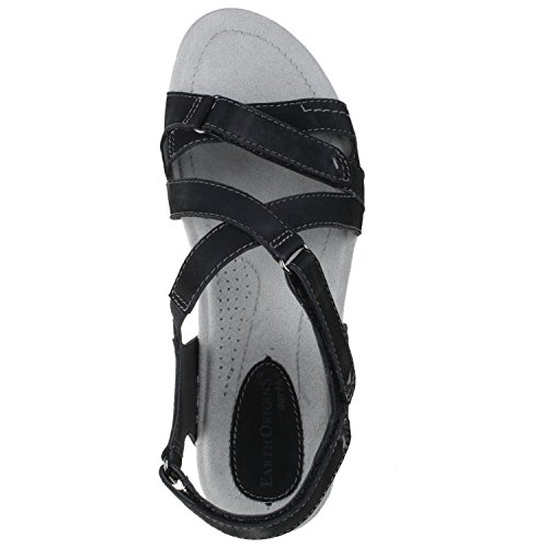 Earth Origins Women's, Henrietta Sandal Black 11 M