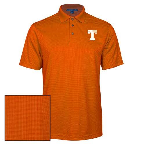 CollegeFanGear UT Tyler Orange Performance Fine Jacquard Polo Flag T